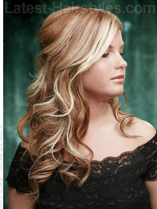 Easy Stunning Side Sweep Hairstyle