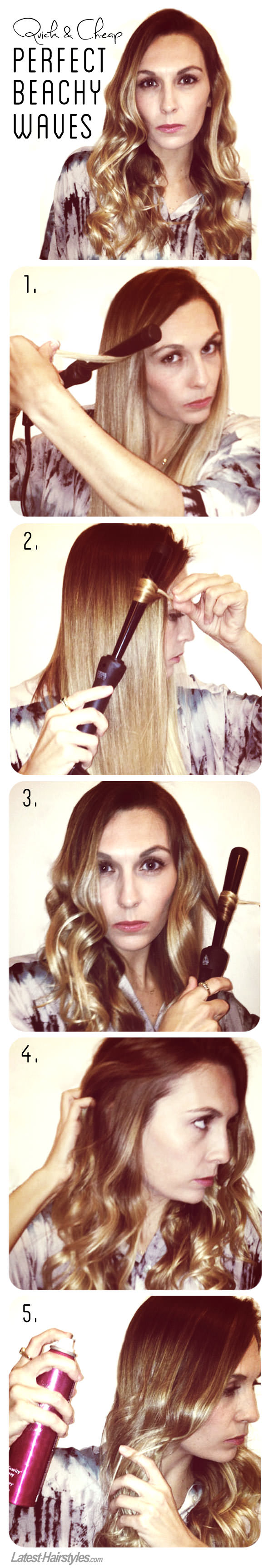 The Secret to Getting Perfect Beachy Waves – The Quick and Cheap Way!