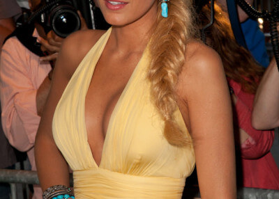 Blake Lively hair fishtail braid