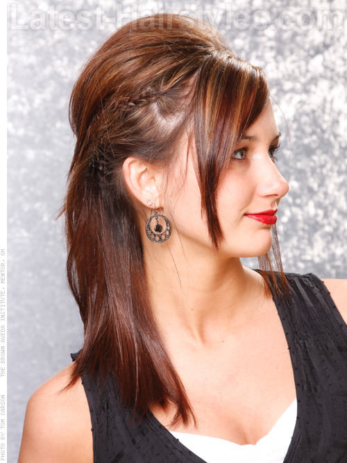 Marvelous 12 Beautifully Braided Hairstyles For Prom Short Hairstyles For Black Women Fulllsitofus