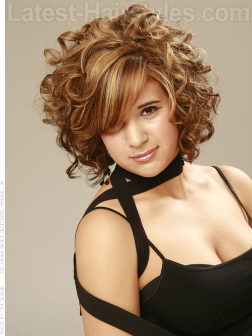 Messy Curl Maven Sweet Full Curly Prom Hairstyle
