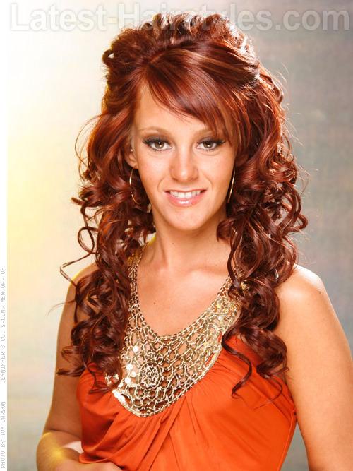Super Curly Hairstyles For Prom Short Hairstyles Gunalazisus