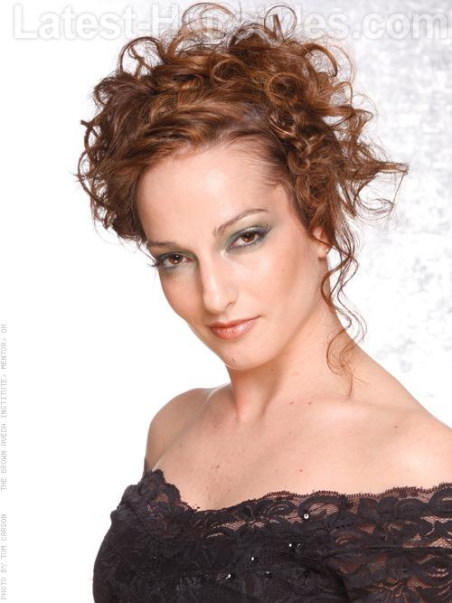 Surprising Curly Hairstyles For Prom Short Hairstyles Gunalazisus