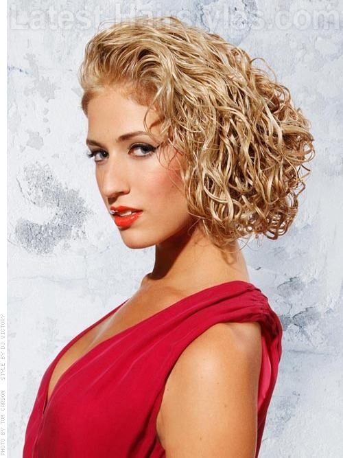 Amazing 30 Curly Bob Hairstyles That Simply Rock Best Curly Bobs Hairstyle Inspiration Daily Dogsangcom