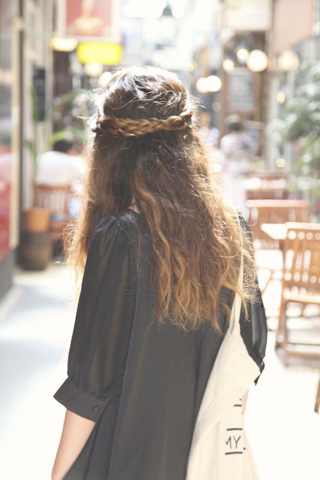 mini braid crown hairstyles