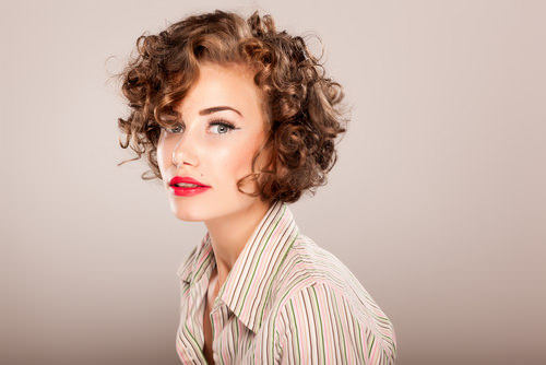 Bombshell Bob Curly Bob for Spring