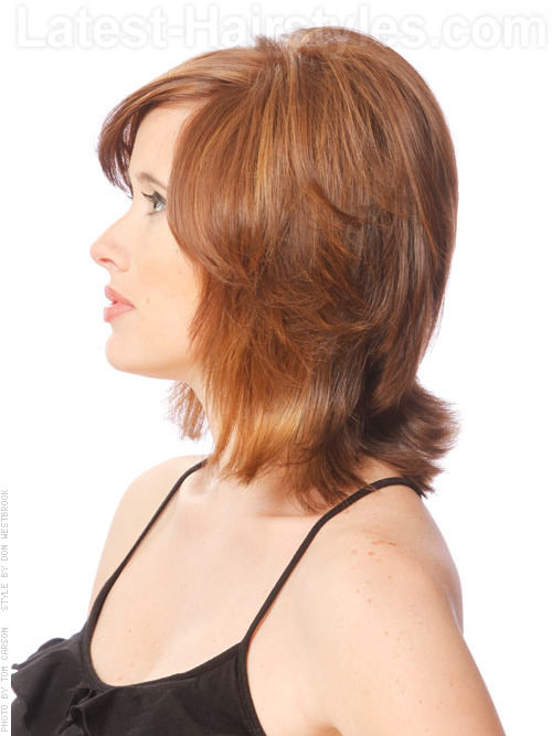 Groovy 30 Seriously Chic Medium Shag Hairstyles Hairstyle Inspiration Daily Dogsangcom