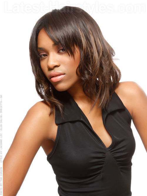 Excellent 30 Seriously Chic Medium Shag Hairstyles Short Hairstyles For Black Women Fulllsitofus