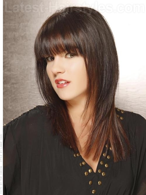 Fringe Fanatic Glossy Bangs Side View