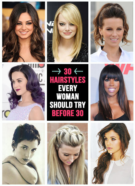 30 hairstyles to try before 30