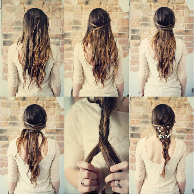 loose braided romantic hairstyles
