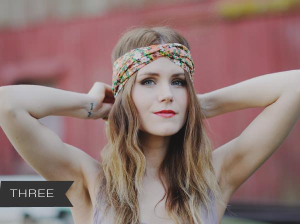 scarf hairstyles tutorial