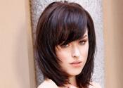 Softly Layered Medium Shag Haircut