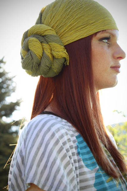 Put A Scarf On It 6 Stylish Hairstyles With A Scarf