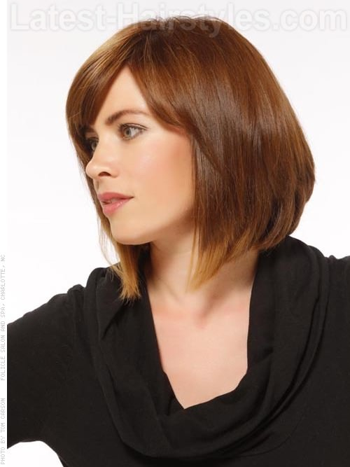 Fantastic 11 Of The Hottest A Line Bob Hairstyles We39Ve Ever Seen Hairstyles For Men Maxibearus