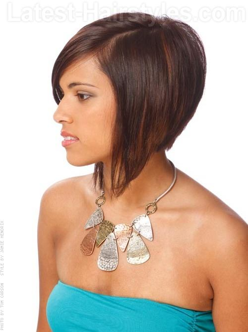 Peachy 11 Of The Hottest A Line Bob Hairstyles We39Ve Ever Seen Short Hairstyles For Black Women Fulllsitofus