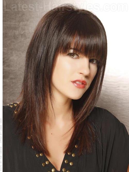 Lash Grazing Fringe Medium Haircut