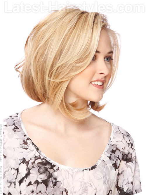 Hairstyle For Thin Volume Hair : Angled bob hairstyles spectacular styles to try today