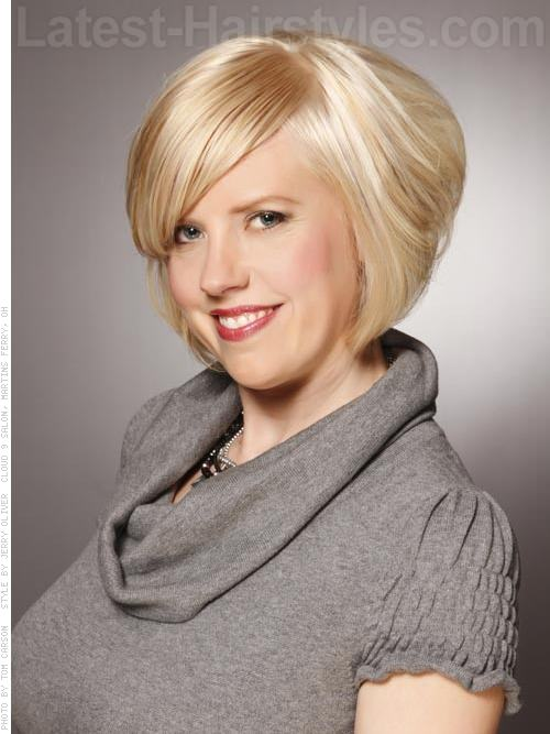 Hairstyles For Short Hair With Less Volume : Stacked sky high, this hairstyle is for those who love extra volume.