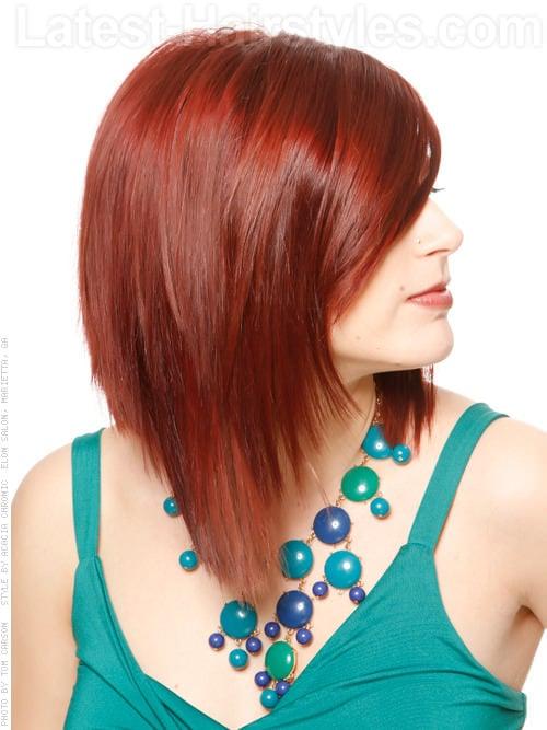 sleek-red-long-bob-side-view