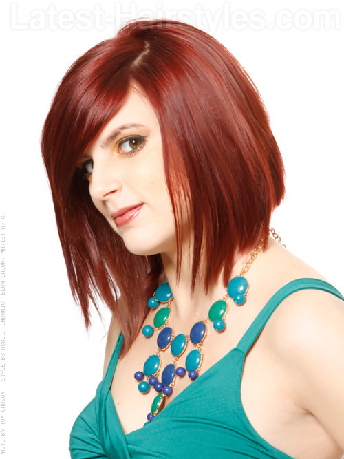 Angled Bob Hairstyles 12 Spectacular Styles To Try Today