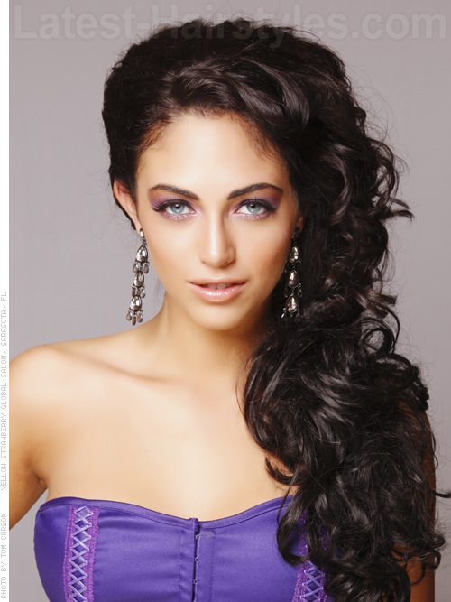 formal hairstyles for long thick wavy hair download