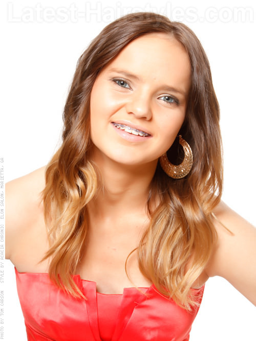The Teen Dream Long Wavy Casual Haircut