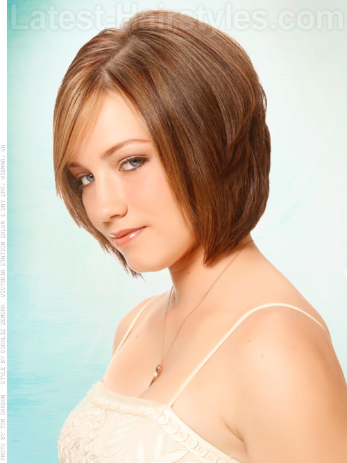 Volume Insurance Smooth Bob Haircut Side View