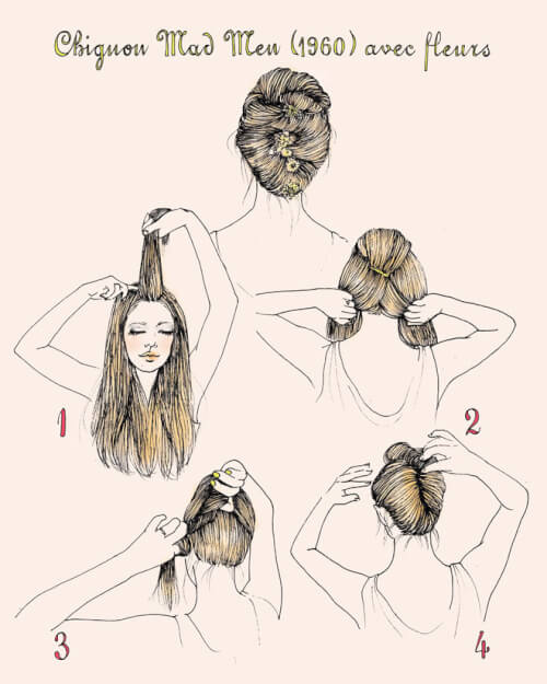 french twist hairstyles tutorial