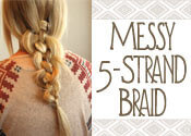 5-strand braid tutorial