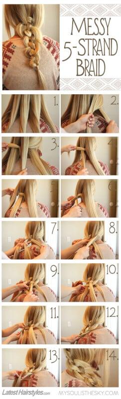 Awe Inspiring 25 Diy Braided Hairstyles You Really Have To Pin Short Hairstyles Gunalazisus