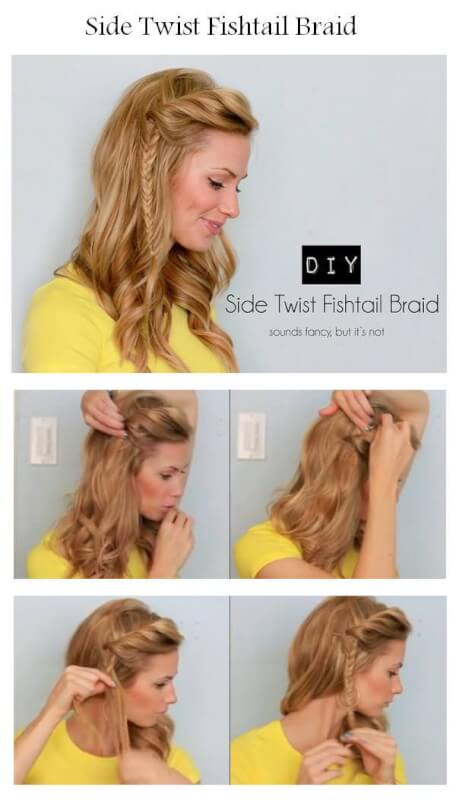 Fishtail Braid | Gone Fishin': 6 Ways to Style a Fishtail ...