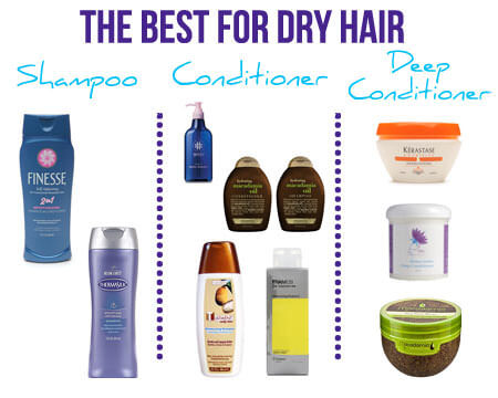 hair products for dry hair