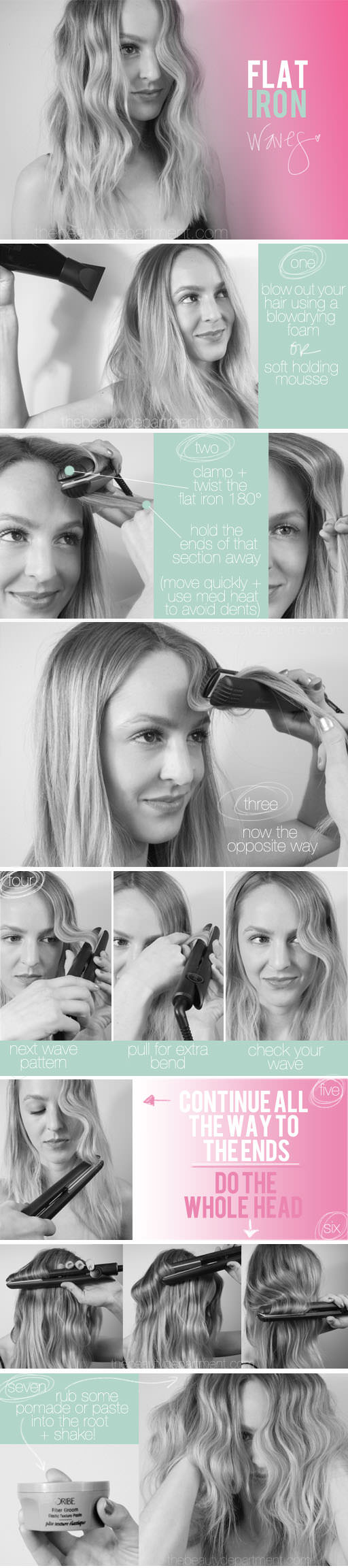 Get Awesome Wavy Hair Without Heat Or Tools
