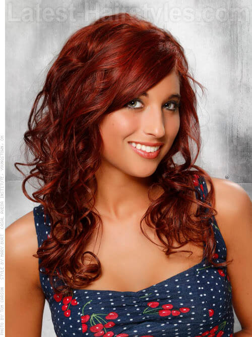 Cherry Cola Brown Hair Color With Highlights Cherry cola rich red hair