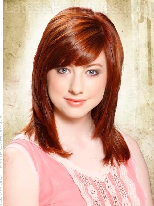Cherry Cola Brown Hair Color With Highlights This red hair color is best