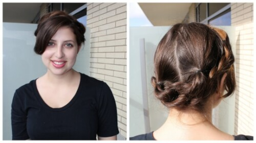 hot weather hairstyles milkmaid braid