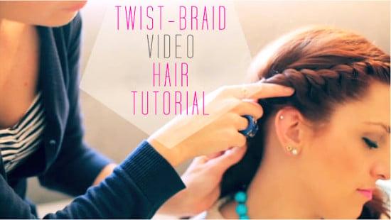 hot weather hairstyles twist braid