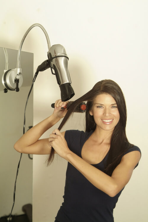 how to get water out of your ear blow dryer