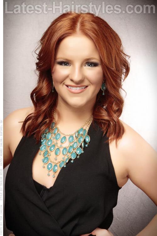 Gorgeous Copper Haircolor