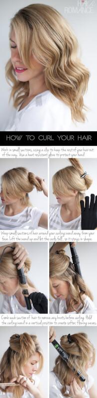 Outstanding 4 Different Ways To Use A Curling Wand For Perfect Curls Hairstyles For Women Draintrainus