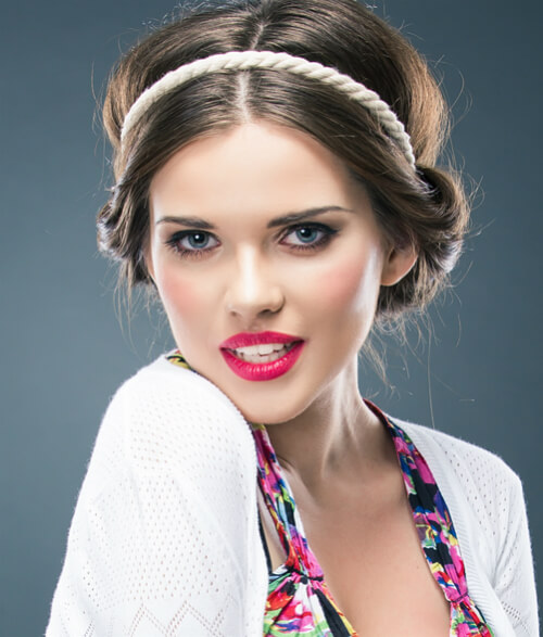 Simple Summer Hairstyle with Headband