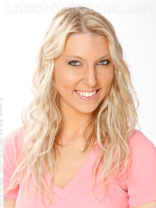 Bombshell Blonde Highlights Long Hair
