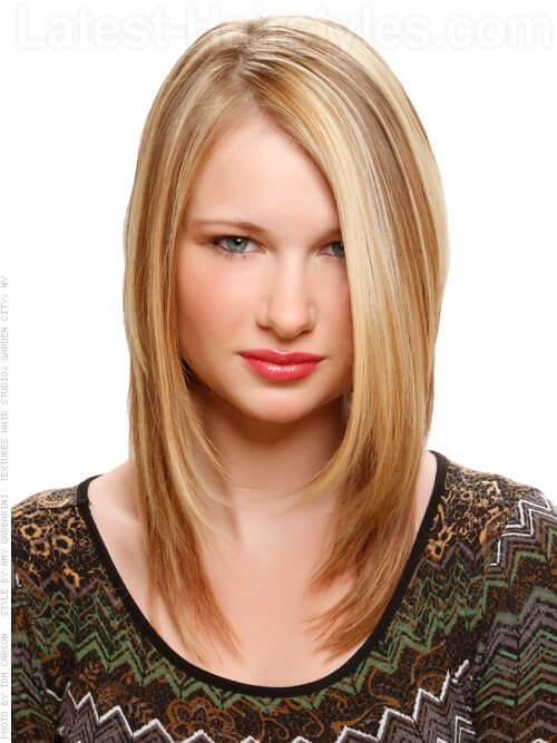 Dramatic Blonde Highlights