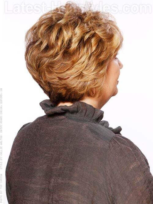 Full Fringe Professional Short Style Side View