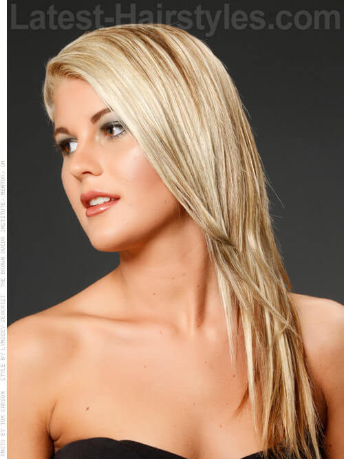 Long and Luscious Haircuts for Round Faces