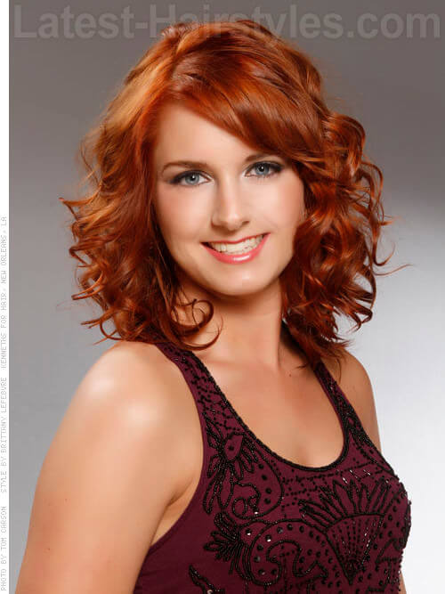 Haircuts for thin natural hair : Gallery for gt medium natural red hairstyles