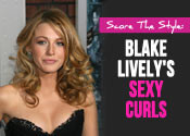 blake lively curly hair