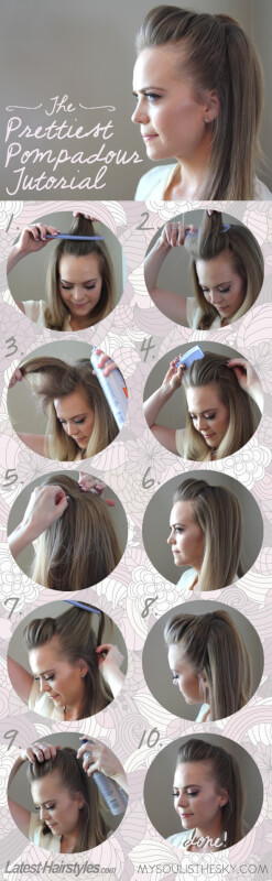 Easy 5 Minute Hairstyles Long Hair