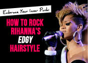 rihanna punk hair